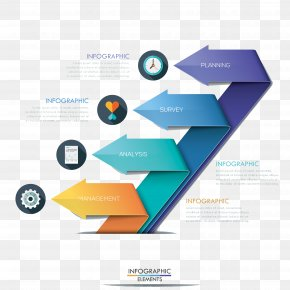 Beautifully Designed 3D Chart - Infographic Chart Information Icon PNG