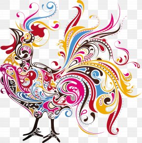 Cock - Rhode Island Red Hamburg Chicken Old English Game Fowl Rooster Clip Art PNG