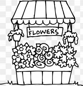 Flower Shop Cliparts - Coloring Book Floristry Flower Floral Design Clip Art PNG
