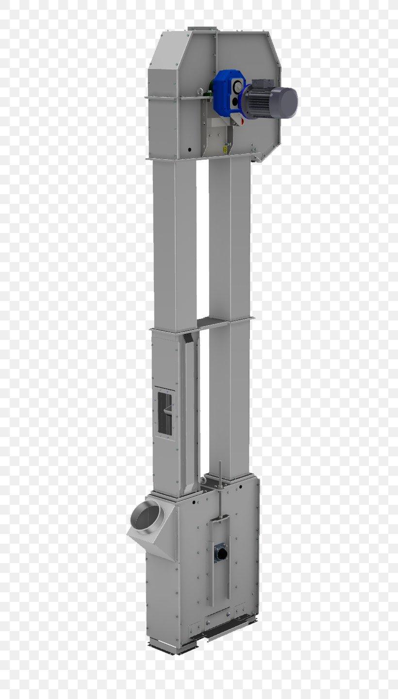Bucket Elevator Conveyor System Bulk Material Handling Screw Conveyor, PNG, 504x1440px, Bucket Elevator, Bucket, Bulk Material Handling, Conveyor Belt, Conveyor System Download Free