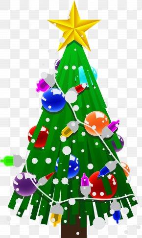 Christmas Tree - Santa Claus Christmas Tree Christmas Gift PNG