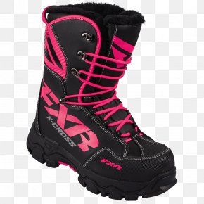 Boot - Snow Boot Snowmobile Footwear High-visibility Clothing PNG
