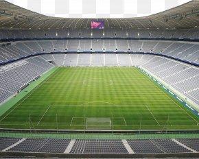 Football Field - Allianz Arena Olympiastadion Berlin 2014 FIFA World Cup 2006 FIFA World Cup Seoul World Cup Stadium PNG