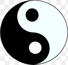 *2* - Yin And Yang Symbol The Book Of Balance And Harmony Taoism PNG