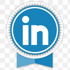 Linkedin - Blue Area Text Symbol PNG