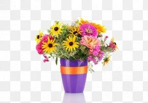 Flowerpot Vase Floral Design - Flower Bouquet Stock Photography Floral Design Daisybush PNG