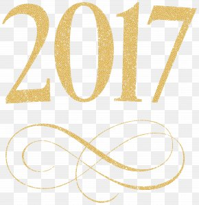 2017 Transparent Clip Art Image - New Year Clip Art PNG