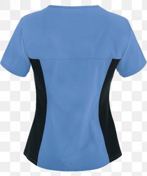Blue Stethoscope - T-shirt Electric Blue Turquoise Aqua PNG