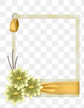 Flower - Borders And Frames Paper Picture Frames Flower Clip Art PNG