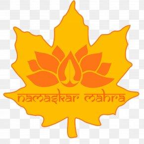 Maple Leaf Logo Information PNG