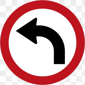 Road - Traffic Sign U-turn Road Turn On Red PNG