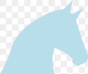 Blue Horse Cliparts - Horse Pony Blue Cartoon Clip Art PNG
