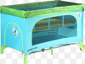 Bed - Bed Cots Blue Mosquito Nets & Insect Screens Green PNG