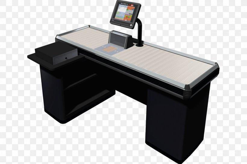 Cash Register Table Desk Supermarket Cashier, PNG, 1500x1000px, Cash Register, Cashier, Cheque, Conveyor Belt, Counter Download Free