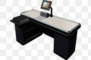 Ink Computer File - Cash Register Table Desk Supermarket Cashier PNG