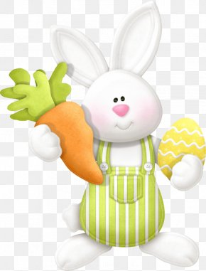 Easter - Easter Bunny Easter Egg Greeting & Note Cards Clip Art PNG