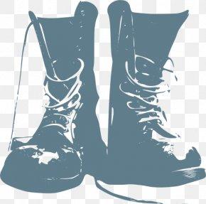 Boot - Combat Boot Clip Art Shoe Footwear PNG