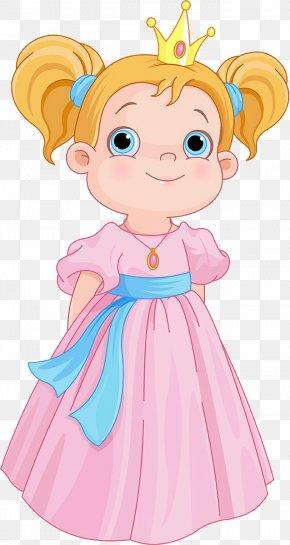 Cartoon Little Princess - Royalty-free Cartoon Princess Clip Art PNG