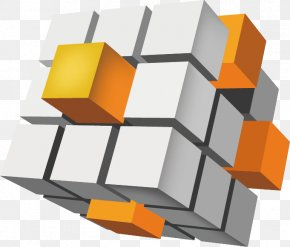 3D Cube - Data I P Quest Encryption Book Information Technology PNG