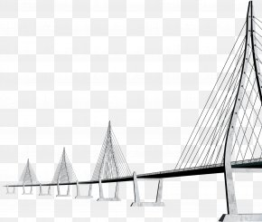 Perspective Bridge - Transport Icon PNG