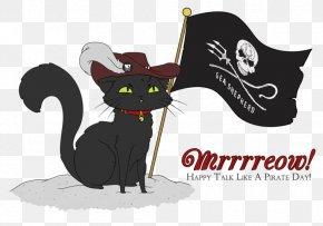 Cat - Cat International Talk Like A Pirate Day Piracy Horse PNG