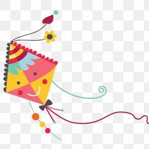 Kite Vector - Clip Art Cartoon Image Vector Graphics PNG