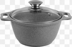 Frying Pan - Cookware Non-stick Surface Lid Frying Pan Tableware PNG