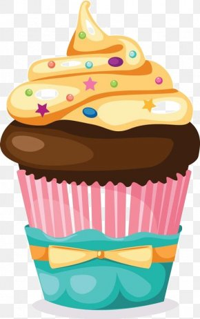 Cake - Cupcake Muffin Frosting & Icing Birthday Cake PNG