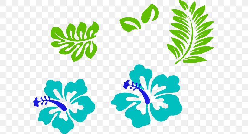 Hawaii Clip Art Borders And Frames Rosemallows Image, PNG, 600x445px, Hawaii, Area, Artwork, Borders And Frames, Drawing Download Free