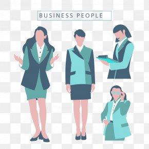 Vector Women's Business - Euclidean Vector Business Download Illustration PNG