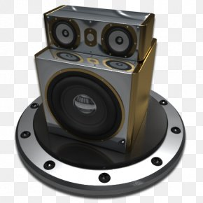 Metal Speakers - Click-it Run By 1Buck80u2122 RocketDock Download Icon PNG