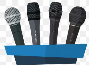 Microphone - Microphone Poster Illustration PNG