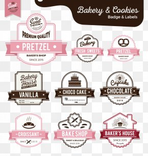 Label - Bakery Cake Label Sweetness PNG