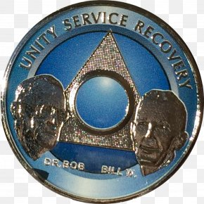 Medal - Bill W. And Dr. Bob Alcoholics Anonymous Sobriety Medal Coin PNG