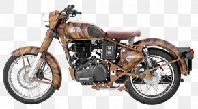 Royal Enfield Classic Desert Storm Motorcycle Bike - Enfield Cycle Co. Ltd Triumph Motorcycles Ltd Royal Enfield Bullet PNG