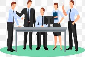 Cartoon Characters, Men And Women - Business Cartoon Organization PNG