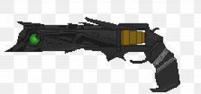 Pixel Art Pistol - Destiny Pixel Art Trigger Video Game PNG