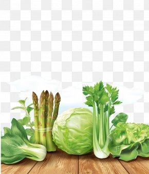 Fresh Vegetables - Organic Food Leaf Vegetable Fruit PNG