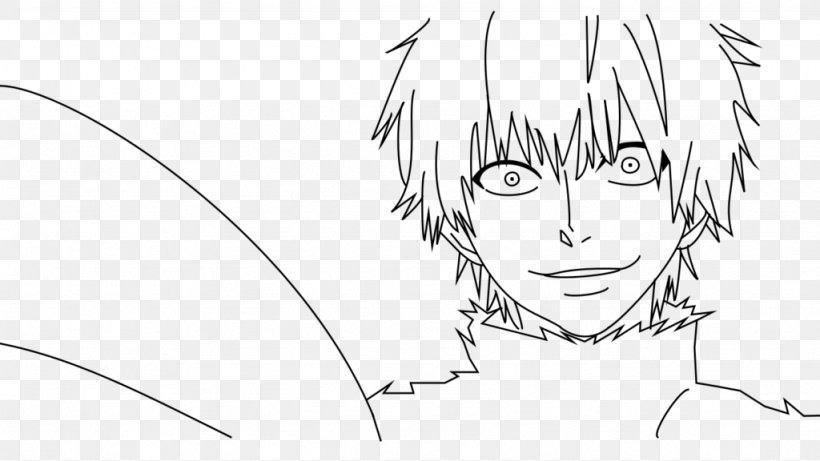 Drawing Coloring Book Tokyo Ghoul Sketch Png 1024x576px