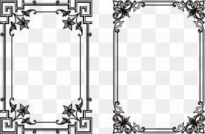 Black Frame European Style - Icon PNG