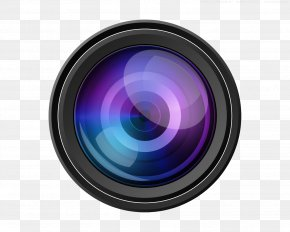 Video Camera Lens Transparent Image - Camera Lens Icon PNG