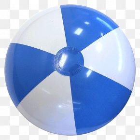 Light Blue Soccer Ball - Beach Ball Light Blue White PNG