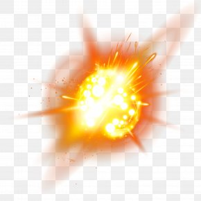 Explosion Light Effect - Light Explosion PNG