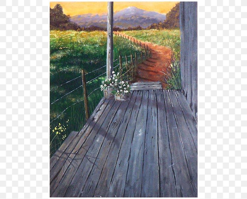 Acrylic Paint Painting Porch Canvas, PNG, 630x661px, Acrylic Paint, Art, Canvas, Deck, Gouache Download Free
