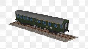 Train - Railroad Car Train Passenger Car Rail Transport Locomotive PNG