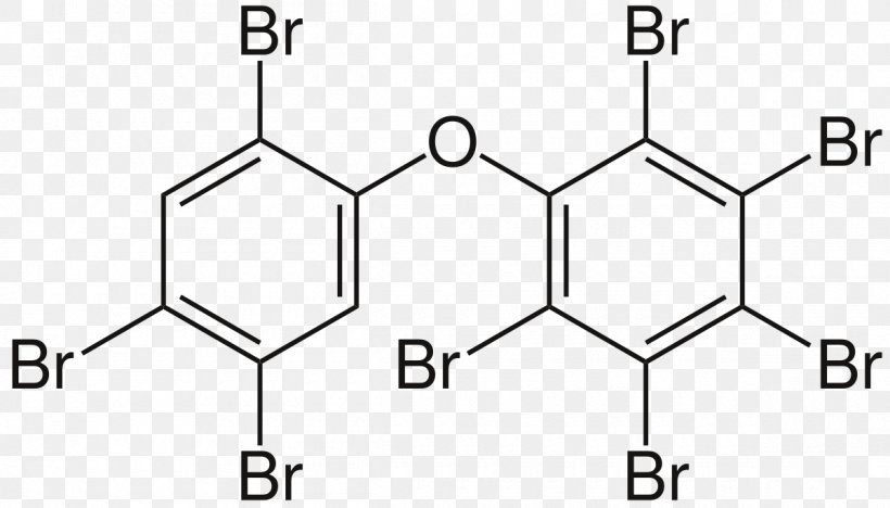 Decabromodiphenyl Ether Polybrominated Diphenyl Ethers Octabromodiphenyl  Ether, PNG, 1200x685px, Decabromodiphenyl Ether, Amine, Area, Auto Part,  Biphenyl