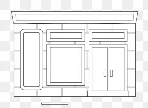 White House Vector - Coloring Book Drawing Clip Art PNG