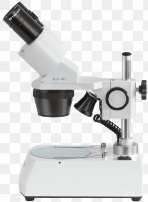 Microscope - Stereo Microscope Optical Microscope Objective Eyepiece PNG