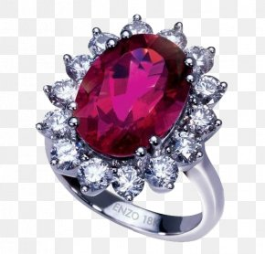 Jewelry - Ruby Ring Jewellery Necklace Tourmaline PNG