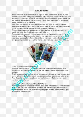 Baralho - Playing Card Cartomancy Card Game Tarot Ace PNG